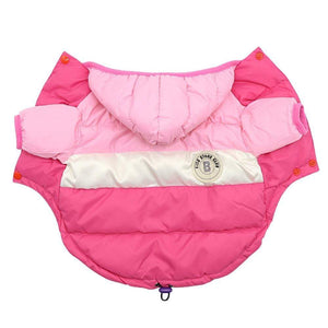 Frenchie World Shop Dog Clothing Pink / 8 French Bulldog Waterproof Down Jacket