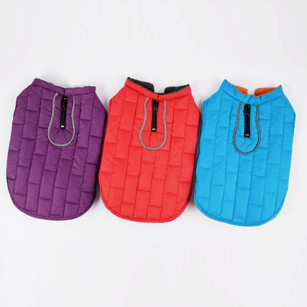 Frenchie World Shop French Bulldog Waterproof Winter Quilted Vest