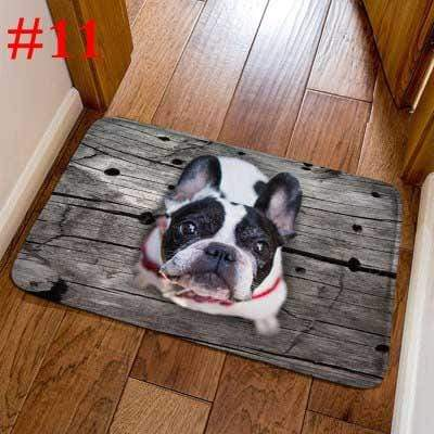 Frenchie World Shop 11 / 40cmx60cm French Bulldog Welcome Door Mats
