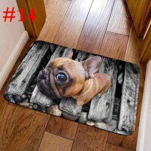Frenchie World Shop 14 / 40cmx60cm French Bulldog Welcome Door Mats