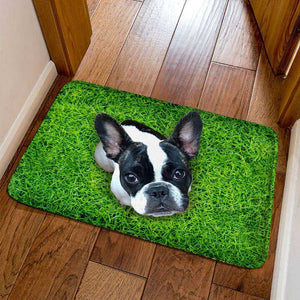 Frenchie World Shop 4 / 40cmx60cm French Bulldog Welcome Door Mats
