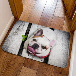 Frenchie World Shop 5 / 40cmx60cm French Bulldog Welcome Door Mats