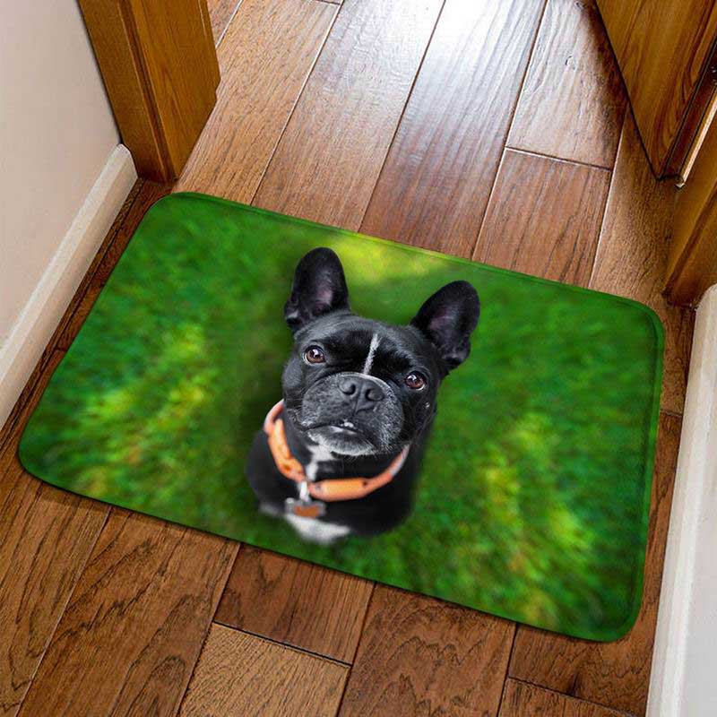 Frenchie World Shop 6 / 40cmx60cm French Bulldog Welcome Door Mats
