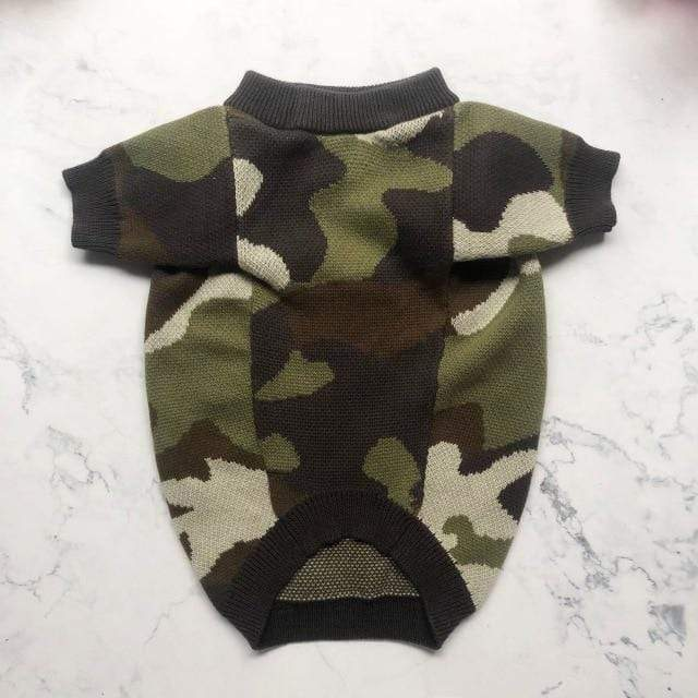 Frenchie World Shop Camo / M Frenchie Camo Knitted Sweater