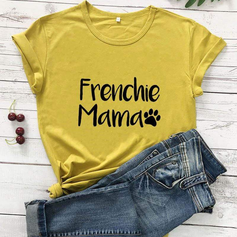 Frenchie World Shop Frenchie Mama Women's T-Shirt