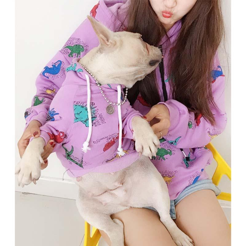 Frenchie World Shop Frenchie & Mommy Matching Hoodies