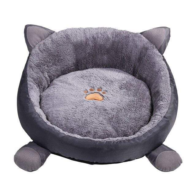 Frenchie World Shop Light Grey / M Frenchie Snuggle Nest Bed