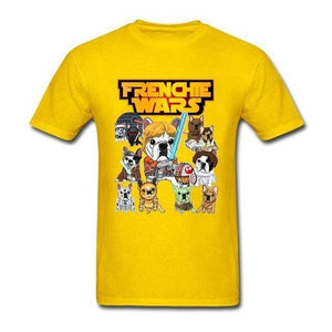 Frenchie World Shop Human clothing Yellow / XS Frenchie Wars t-shirt