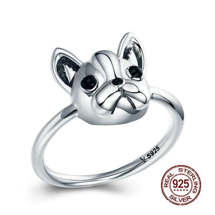 Frenchie World Shop Human accessories 6 Frenchie World® 925 Sterling Silver Ring