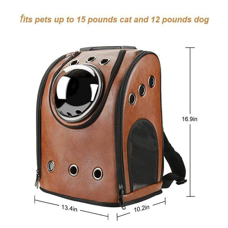 Frenchie World Shop Dog Accessories Frenchie World® Traveler Bubble Backpack