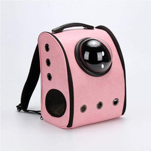 Frenchie World Shop Dog Accessories pink / L Frenchie World® Traveler Bubble Backpack