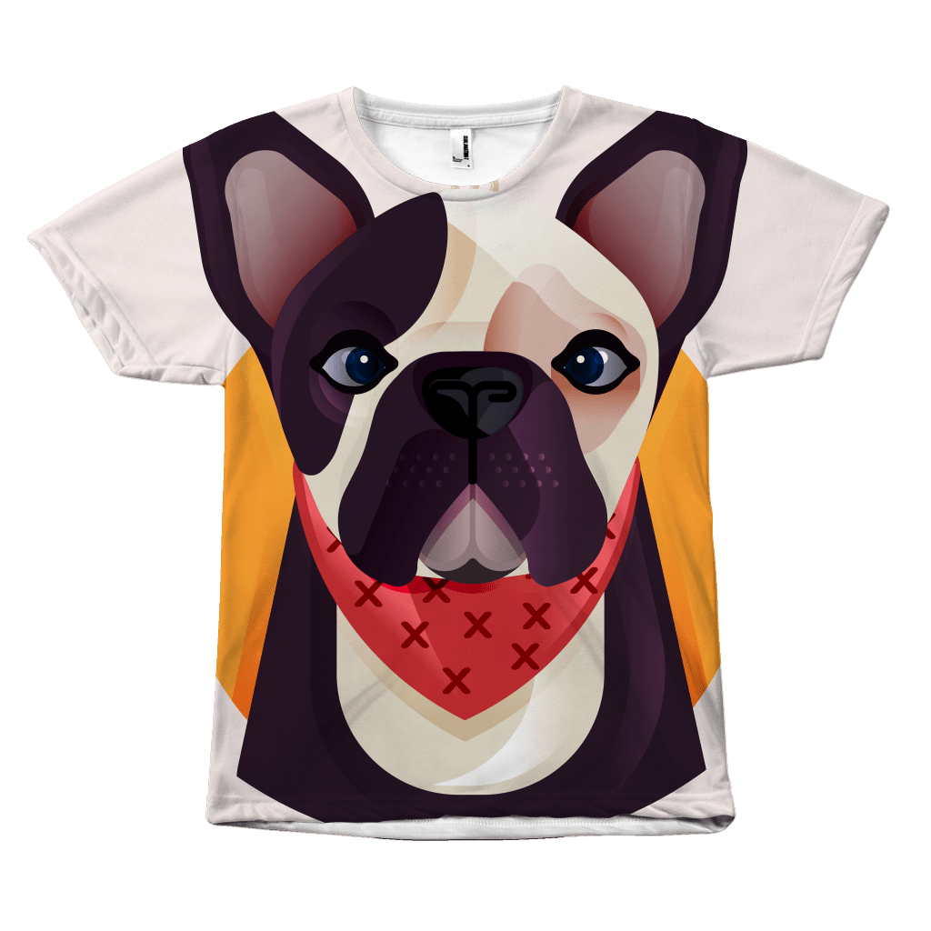 teelaunch All Over Print All over tee / S Frenchie World x Nickola All Over T-shirt