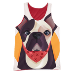 teelaunch All Over Print 2 S Frenchie World x Nickola ALL Over Tank Top