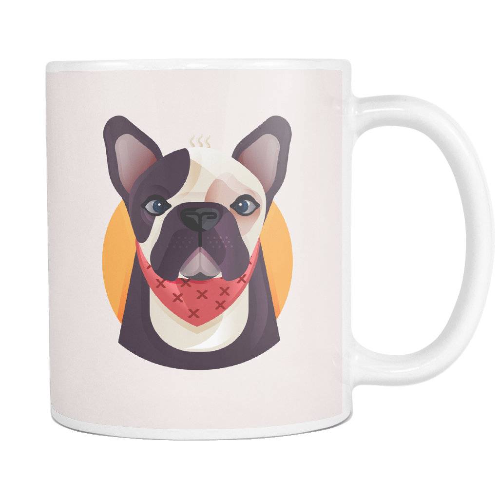 teelaunch Drinkware Coffee Mug Frenchie World x Nickola Coffee Mug