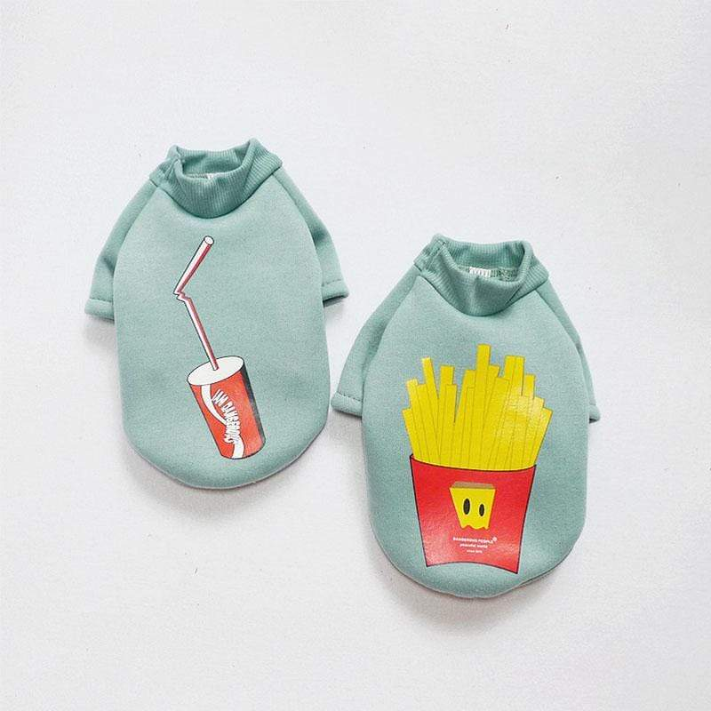 Frenchie World Shop Fries & Coke Sweatshirts