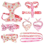 Frenchie World Shop Girly French Bulldog Harness, Leash and Collar Set