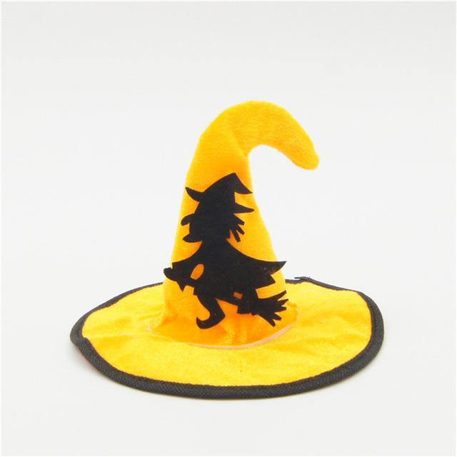 Frenchie World Shop Gold / M Halloween Witch Hat