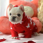 Frenchie World Shop Holiday Maple Hoodie Sweater