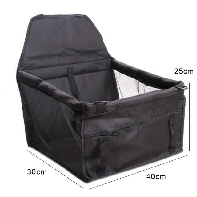 Frenchie World Shop black 40x32x25CM / 40x30CM Hoomall Dog Carrier Breathable Vehicle Pet Carrier Mesh Foldable Puppy Cat Package Stable Pet Car Seat Front Seat Carriers