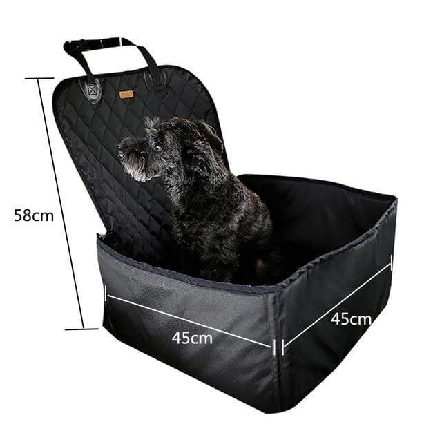 Frenchie World Shop black 45x45x58cm / 40x30CM Hoomall Dog Carrier Breathable Vehicle Pet Carrier Mesh Foldable Puppy Cat Package Stable Pet Car Seat Front Seat Carriers