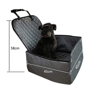Frenchie World Shop grey 45x45x58cm / 40x30CM Hoomall Dog Carrier Breathable Vehicle Pet Carrier Mesh Foldable Puppy Cat Package Stable Pet Car Seat Front Seat Carriers