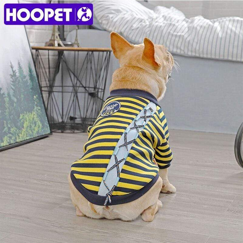 Frenchie World Shop HOOPET Dog Clothes Winter Warm Pet Dog Jacket Coat Puppy Chihuahua Clothing For Small Medium Dogs Puppy Outfit