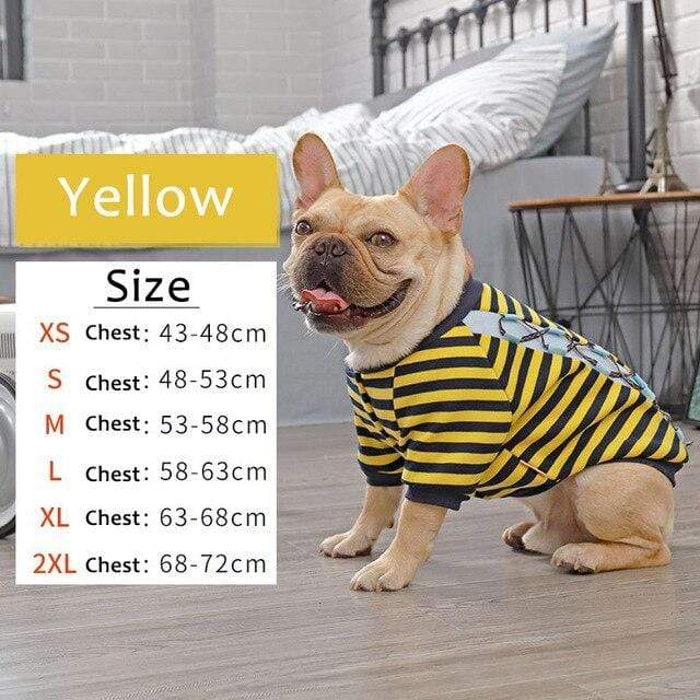 Frenchie World Shop Yellow / XL HOOPET Dog Clothes Winter Warm Pet Dog Jacket Coat Puppy Chihuahua Clothing For Small Medium Dogs Puppy Outfit