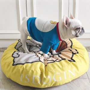 Frenchie World Shop Jormel Pet Products Dog Beds Mats Pet Bed Puppy Pad Dog Bench Sofa Lounger Dog Bed Mat For Small Medium Large Dog House For Cat