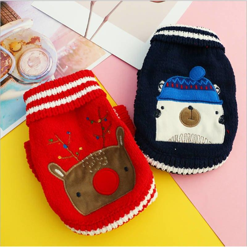 Frenchie World Shop Knitted Winter Holiday Jumpers
