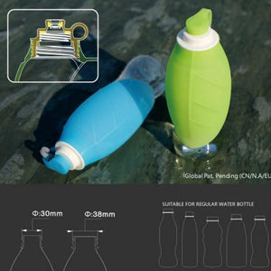 Frenchie World Shop Leaf 600ml Portable Water Bottle