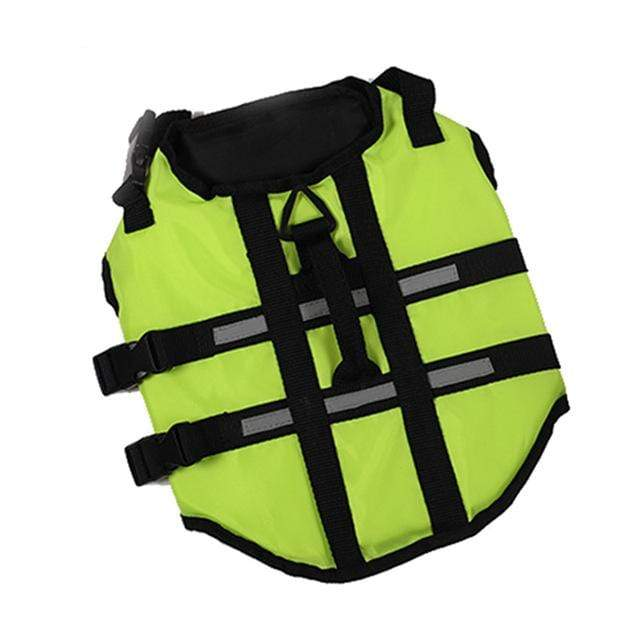 Frenchie World Shop Dog Accessories Green / S Life safety vest