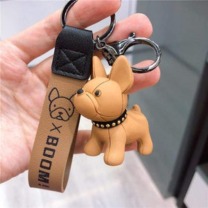 Frenchie World Shop as photos 5 Limited Edition Vinyl Frenchie Key Chains