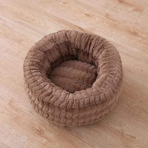Frenchie World Shop Brown / L 60x60cm Lounge Washable French Bulldog Sofa Nest
