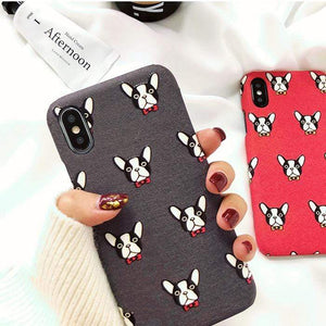 Frenchie World Shop Human accessories New iPhone Frenchie covers