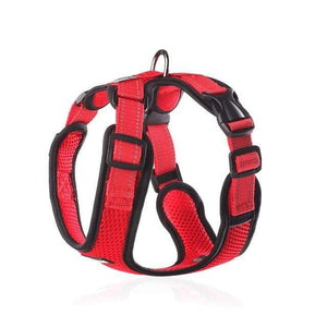 Frenchie World Shop red / S Chest 30-38cm No-pull Breathable French Bulldog Harness