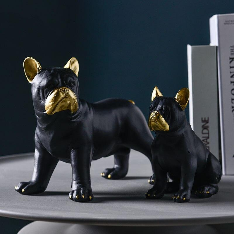 Frenchie World Shop Nordic Luxury French Bulldog Ornaments