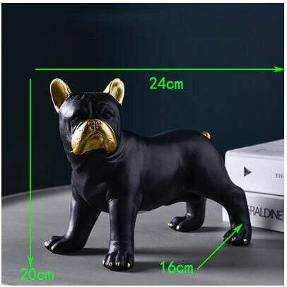 Frenchie World Shop style2-L Nordic Luxury French Bulldog Ornaments