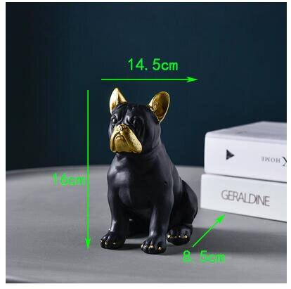 Frenchie World Shop style3-S Nordic Luxury French Bulldog Ornaments