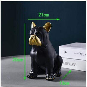 Frenchie World Shop style4-L Nordic Luxury French Bulldog Ornaments