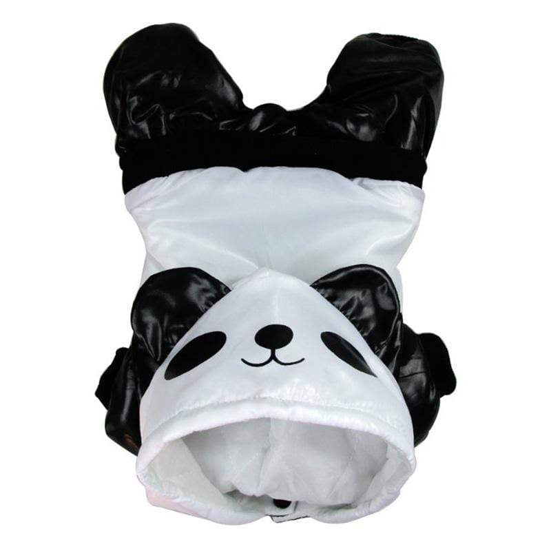 Frenchie World Shop Panda Winter Waterproof Hooded Jacket
