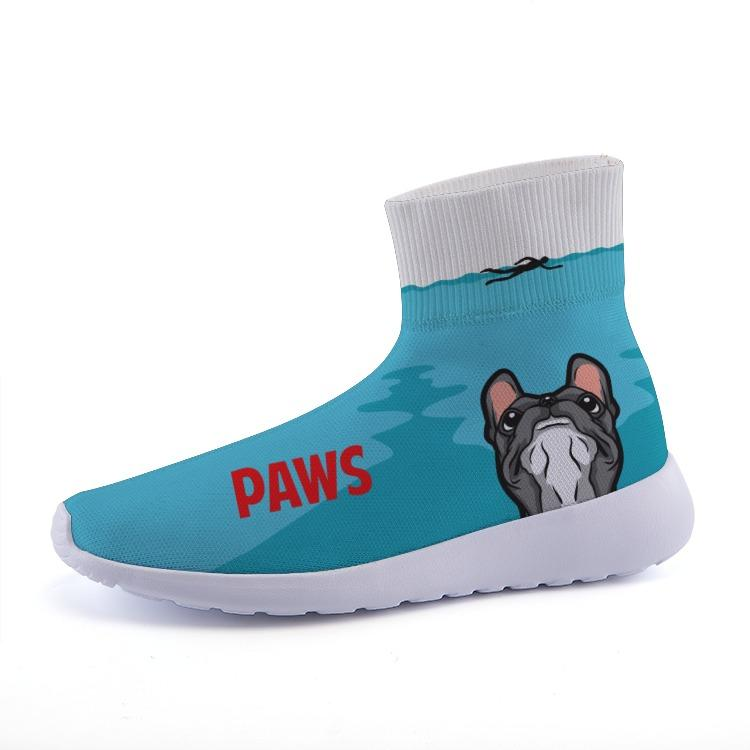 Printy6 Shoes 35 PAWS Lightweight Fashion Sneakers
