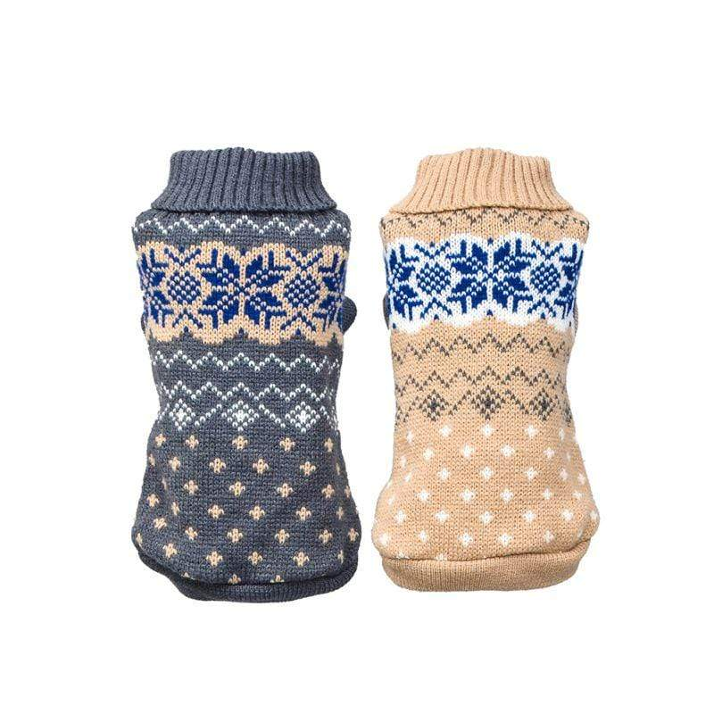 Frenchie World Shop Pet Dog Classics Casual Dot Sweater Puppy Turtleneck Cloth for Winter Autumn Pet Hoodies High Collar Costume Pet Sweater Supply