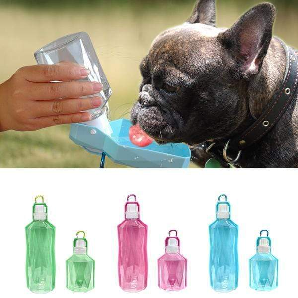 Frenchie World Shop Portable Frenchie Water Bottle
