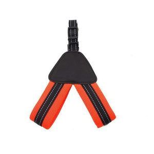 Frenchie World Shop Orange / S Reflective Mesh Dog Harness