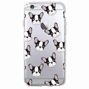 Frenchie World Shop Human accessories 3 / For iPhone 5 5S SE Samsung & iPhone silicone cases