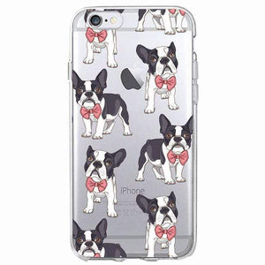 Frenchie World Shop Human accessories 4 / For iPhone 5 5S SE Samsung & iPhone silicone cases