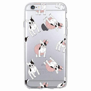 Frenchie World Shop Human accessories 7 / For iPhone 5 5S SE Samsung & iPhone silicone cases