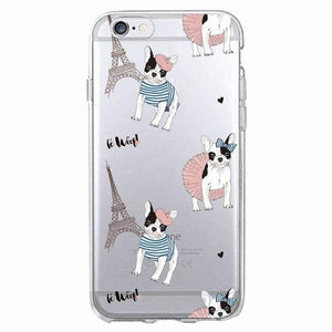 Frenchie World Shop Human accessories 8 / For iPhone 5 5S SE Samsung & iPhone silicone cases