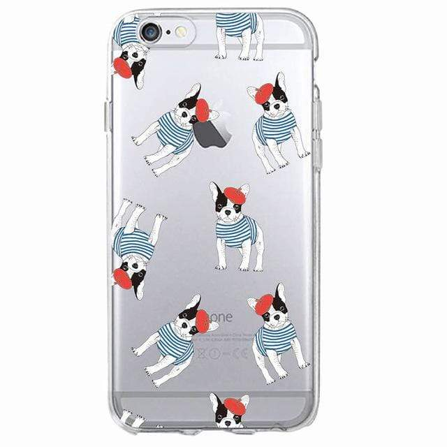 Frenchie World Shop Human accessories 9 / For iPhone 5 5S SE Samsung & iPhone silicone cases