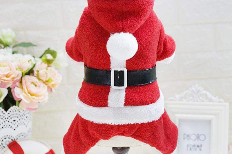 Frenchie World Shop Santa Dog Hoodie